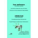 Les animaux, jeux mémoire et questions (frais de transport inclus)